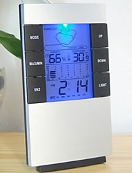 cheap -Home Large LED Backlight Digital Calendar Thermometer Hygrometer Clock Digital Alarm Clock Large Digital Clock