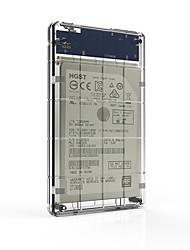 Sede hds2160-c scatola del disco rigido mobile usb3.0 da 2,5 pollici per ssd e hard disk