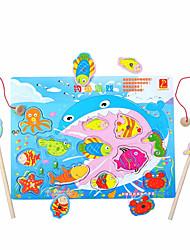 economico -Giocattoli di pesca A calamita Quadrato Prodotti per pesci Per bambini Da ragazzo Regalo