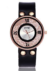 Pentru femei Ceas de Mână Unic Creative ceas Ceas Casual Simulat Diamant Ceas Ceasuri din Cristal Ceas Elegant  Ceas La Modă Chineză