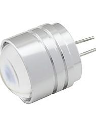 1W G4 Luci LED Bi-pin T 1 leds LED ad alta intesità Bianco caldo Luce fredda 90lm 2800-3500;5000-6500K DC 12V