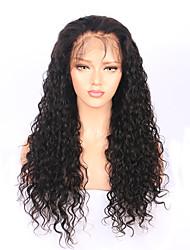 abordables -Mujer Pelucas de Cabello Natural Cabello humano 180% Densidad Ondulado Natural Frontal 360º Peluca Negro Corto Medio Largo Entradas