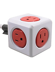 abordables -Allocacoc plug power us socket sans fil intelligent bureau à domicile automatisation de voyage module powercube cube carré