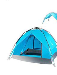 3-4 personnes Sac de Voyage Tente de Plage Double Tente de camping Tente automatique Garder au chaud pour Matériel water proof CM