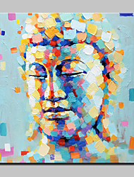 Big Size Hand-Painted Figure of Buddha Oil Painting On Canvas Wall Art Picture For Home Decoration No Frame