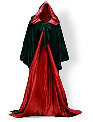 Mago/Bruja Vampiros Cosplay Abrigo Disfraces de Cosplay Capa Escoba de Bruja Ropa de Fiesta Baile de Máscaras Accesorios de Halloween