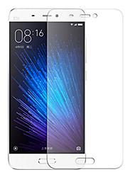 economico -Proteggi Schermo per XIAOMI Xiaomi Mi 5 Vetro temperato 1 pezzo Proteggi-schermo frontale Alta definizione (HD) / Durezza 9H