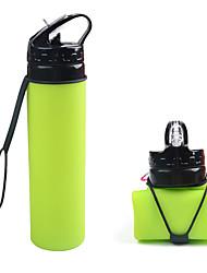 Недорогие -Fengtu Чашки для путешествий / чашка Бутылки для воды Походная чашка Бутылка спорта Складной для Рыбалка На открытом воздухе Путешествия