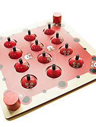 Недорогие -Настольная игра Шахматы Обучающая игрушка Игрушки Квадратный Не указано Куски