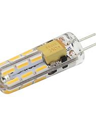 1W G4 Luci LED Bi-pin T 24 leds SMD 4014 Bianco caldo Luce fredda 90lm 2800-3500;5000-6500