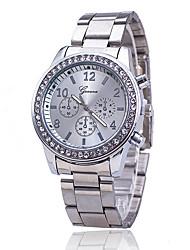 baratos -Mulheres Relógio de Pulso Chinês imitação de diamante Lega Banda Amuleto / Casual / Fashion Prata / Dourada / Ouro Rose