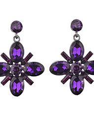 Women's Girls' Stud Earrings Drop Earrings RhinestoneBasic Unique Design Rhinestones Classic Elegant Floral Durable Sexy Fashion Vintage