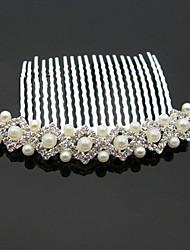 preiswerte -Künstliche Perle Strass Aleación Haarkämme 1 Hochzeit Besondere Anlässe Halloween Jahrestag Geburtstag Neues Baby Einweihungsparty