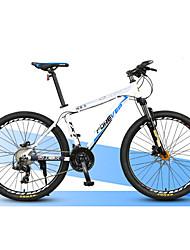 Bicicleta De Montanha Ciclismo 27 velocidade 27 polegadas Microshift 24 Freio a Disco Duplo Suspensão Garfo Quadro de Liga de Alumínio
