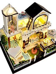 cheap -Model Building Kit Toys DIY House Plastics Classic Pieces Unisex Birthday Gift