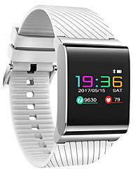 cheap -0.96 Inch Color Touch Screen Smart Bracelet  Water Proof Long Standby Calories Burned Pedometers  Heart Rate Monitor for Ios Android Mobile Phone