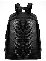abordables -Mujer Bolsos Cuero mochila para Deportes / Formal / Viaje Negro