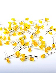 LED Light-Emitting Diode 3MM Yellow Light (1000Pcs)