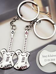 cheap -Music Keychain Favors Metalic Keychains - 6