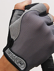 Недорогие -Спортивные перчатки Перчатки для велосипедистов Дышащий / Пригодно для носки / Защитный Без пальцев Ткань Велосипедный спорт / Велоспорт Универсальные