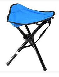 levne -Kempovací stolek Outdoor Skládací, Kompaktní Elastický satén pro Rybaření / Outdoor - 1 osoba Vodní modrá / Listová zelená