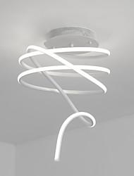 economico -Montaggio a filo, funzionalità pittura contemporanea / contemporanea per lampadina incluso soggiorno in alluminio camera da letto studio /