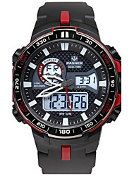 Men's Sport Watch Fashion Watch Digital Water Resistant / Water Proof Stopwatch Rubber Band Black