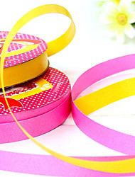 1.2cm Width 1100cm Length Balloon Bandage Ribbons Tape Gift Wrapping Birthday Holiday Decoration Random Color