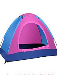 1 persona Tenda Tenda da campeggio Tenda ripiegabile Portatile Resistente ai raggi UV per Satin elastico Materiale impermeabile CM