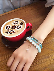 cheap -Women's Bangles Crystal Natural Fashion Crystal Rhinestone Alloy Circle Star Jewelry ForWedding Party Special Occasion Halloween