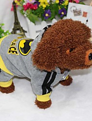 Dog Hoodie Jumpsuit Dog Clothes Sports American/USA Costume For Pets