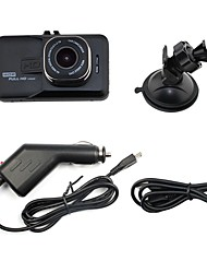 cheap -C206 Full HD 1920 x 1080 Car DVR NTK 3 inch Dash Cam Parking Mode motion detection Loop recording auto on/off G-Sensor