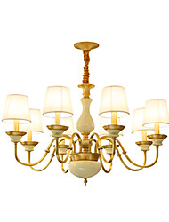 All Copper Chandelier Jade DecorativeLiving Room Chandelier E