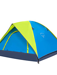 cheap -OSEAGLE 3-4 persons Tent Camping Tent One Room Backpacking Tents Moistureproof/Moisture Permeability Well-ventilated Waterproof Portable