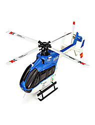 cheap -RC Helicopter WL Toys K124 6CH 6 Axis 2.4G Brushless Electric - Ready-To-Go Upside Down Flight Remote Control Flybarless