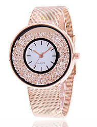 Women's Ladies' Wrist watch Unique Creative Watch Casual Watch Floating Crystal Watch Dress Watch Fashion Watch Chinese Quartz Alloy Band