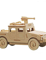 Недорогие -3D пазлы Металлические пазлы Деревянные игрушки Наборы для моделирования Автомобиль Своими руками Натуральное дерево Классика Детские
