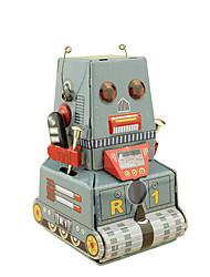 Giocattoli carica a molla Robot Giocattoli Quadrato Carro armato Macchina Robot Ferro battuto Pezzi Non specificato Regalo