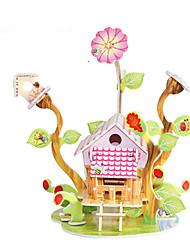 Недорогие -3D пазлы / Пазлы / Наборы для моделирования Знаменитое здание / Лошадь Своими руками Плотная бумага Классика / Аниме / Мультяшная тематика Детские Универсальные Подарок