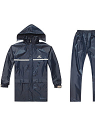 cheap -Electric Vehicle Split Raincoat Motorcycle Adult Split Raincoat OnePiece PVC Raincoat Rain Pants