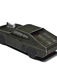 abordables -Coches de juguete Puzzles 3D Maqueta de Papel Juguetes Cuadrado Bloque muscular 3D Manualidades Simulación Papel duro No Especificado