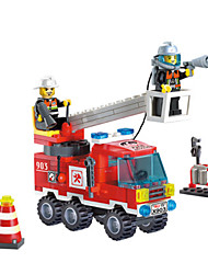 cheap -Toy Cars Building Blocks Fire Engine Vehicle Toys Fire Engines ABS Not Specified Boys Pieces