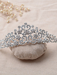 alliage de strass tiaras bandeau élégant style féminin classique