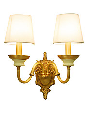 cheap -Tiffany Simple Country Traditional / Classic Wall Lamps & Sconces For Metal Wall Light 110-120V 220-240V 5W