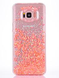 cheap -Case For Samsung Galaxy S8 S8 Plus Case Cover Small Fresh Series PC Material Love Flash Powder Quicksand Phone Case