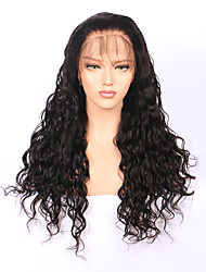 abordables -Mujer Pelucas de Cabello Natural Cabello humano 180% Densidad Marino Frontal 360º Peluca Negro Corto Medio Largo Entradas Naturales Para