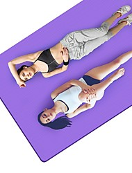 cheap -Yoga Mats Non-Slip NBR (0.4 inch) 10 mm for