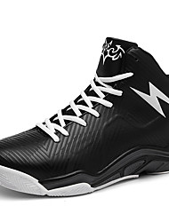 Basketball Shoes Men's Athletic Shoes Comfort TPU Fall Winter Athletic Outdoor  Comfort Light Green Orange Black Under 1in