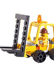economico -Costruzioni Macchinine giocattolo Carrello elevatore Giocattoli Quadrato Carrello elevatore Unisex Pezzi
