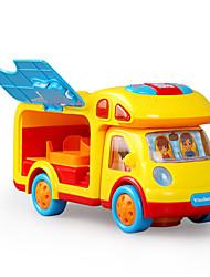 Недорогие -Игрушечные машинки Обучающая игрушка Электрический Музыка и свет Пластик Детские Игрушки Подарок